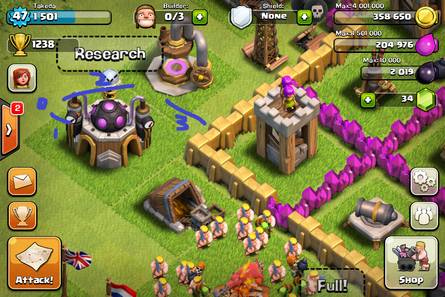 should do when defending - Clash of Clans Strategy guide (by Takeda